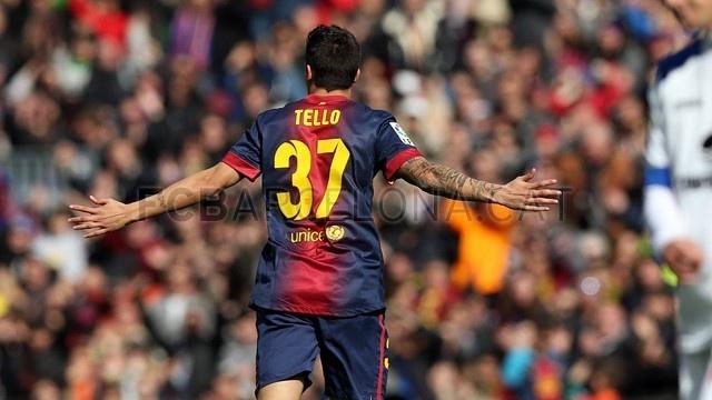 Cristian Tello, FC Barcelona | 2013-02-10 BARCELONA 6-1 GETAFE.