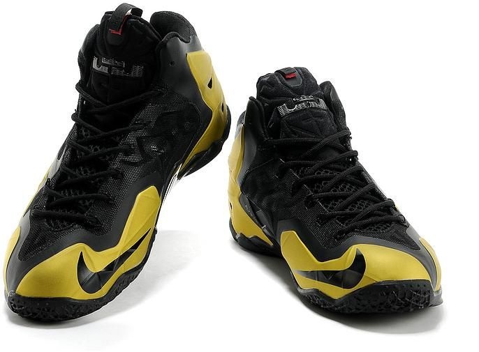 LeBron James XI Men Shoes in Yellow gloden and Black, cheap Nike Lebron If  you want to look LeBron James XI Men Shoes in Yellow gloden and Black, ...