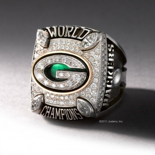 Superbowl Championship Ring ~ Green Bay Packers  (2010-2011 Season)