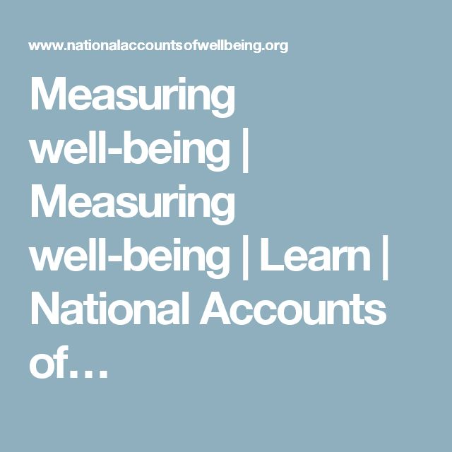 Measuring well-being | Measuring well-being | Learn | National Accounts of…