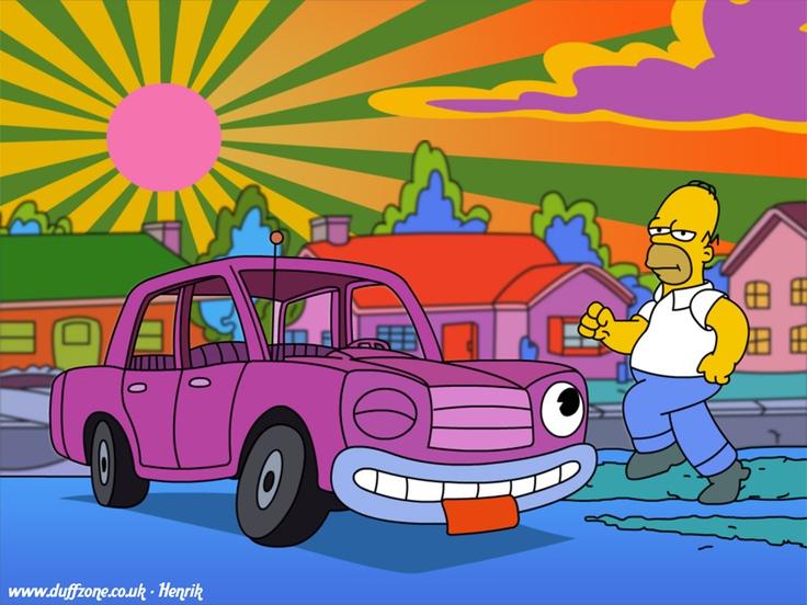 Homer gets addicted to medicinal marijuana