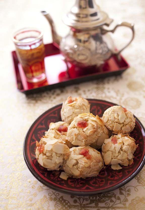 Mchewek - petit four algérien aux amandes - Recettes de cuisine Ôdélices