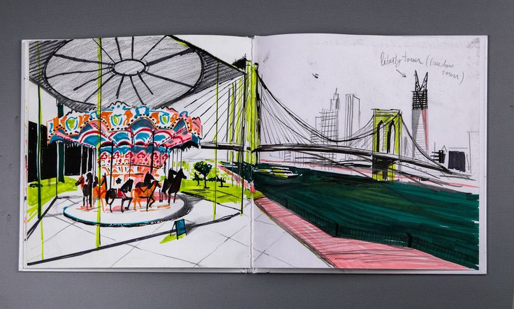 The Brooklyn Sketchbooks, 2012 | Nik Neves