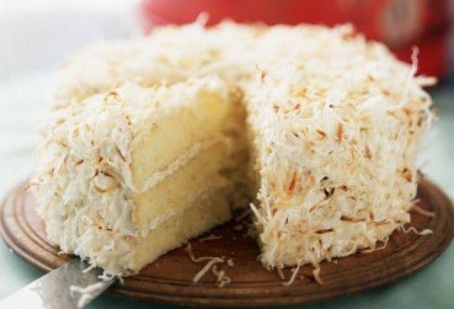 Ricetta torta al cocco – La ricetta per preparare la torta di cocco, ideale per tutti i momenti dolci, a colazione con una spremuta, a merenda con il tè.
