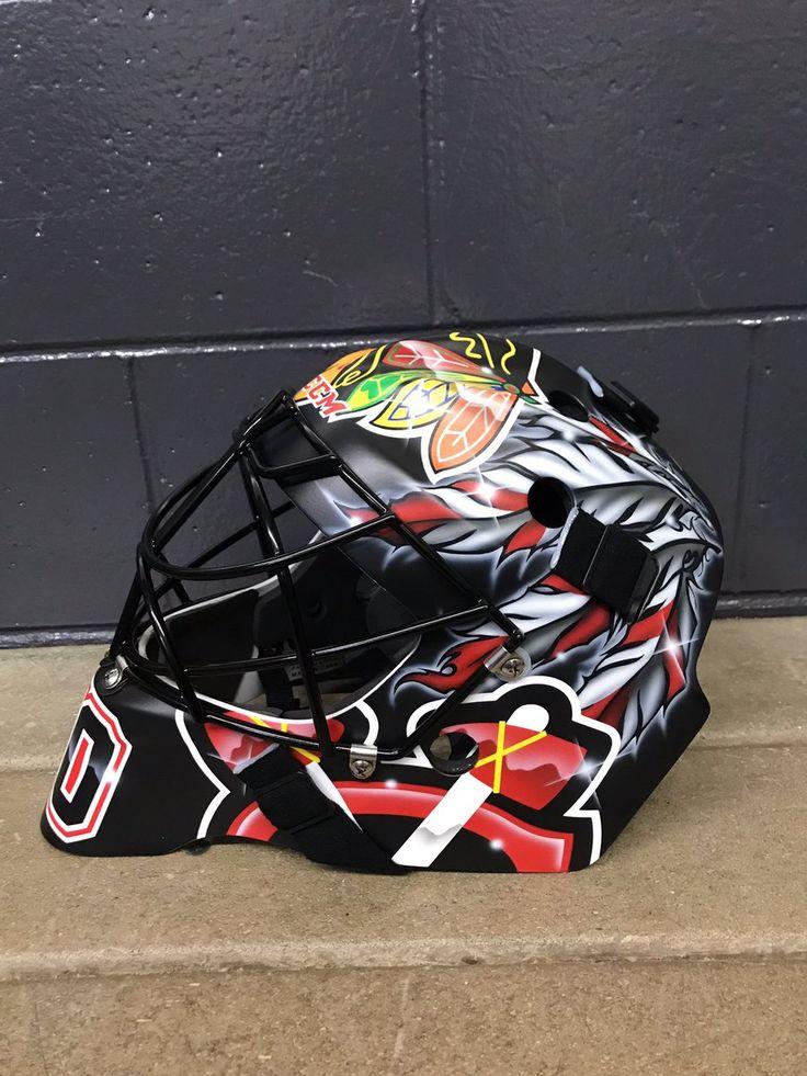 Corey Crawford 2017-2018 New Mask