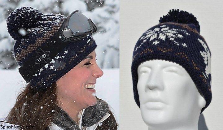 Księżna Kate: Urocza Zdjęcia Wydany Ski wakacyjny Cambridges '