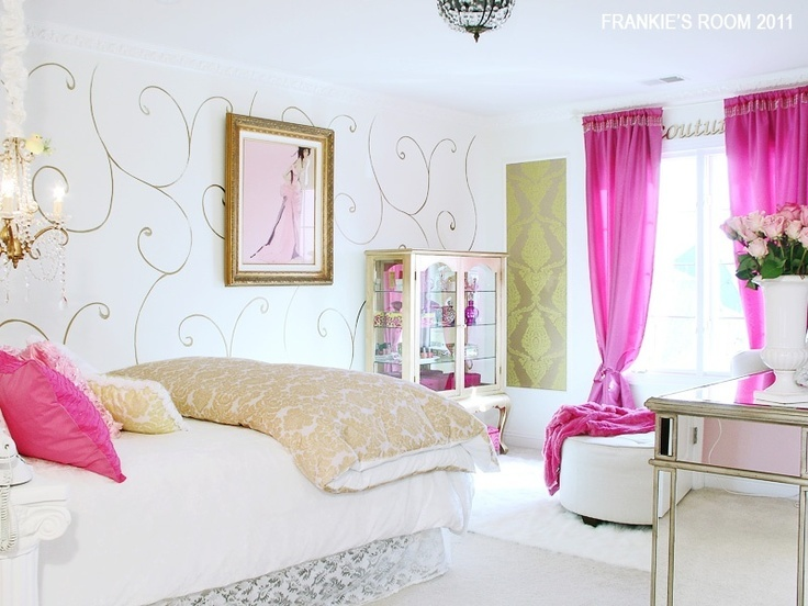 402 best Girly Room Ideas images on Pinterest Dream bedroom