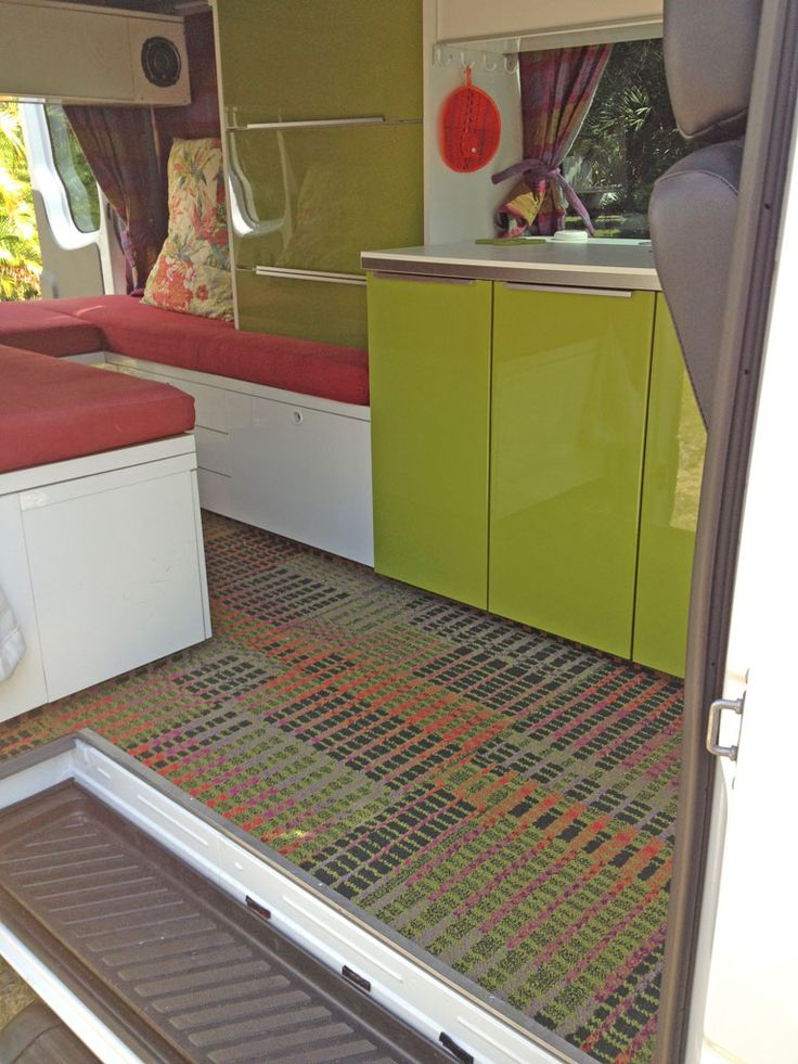 Kitchen And Cabinetry In Peter S Diy Sprinter Camper