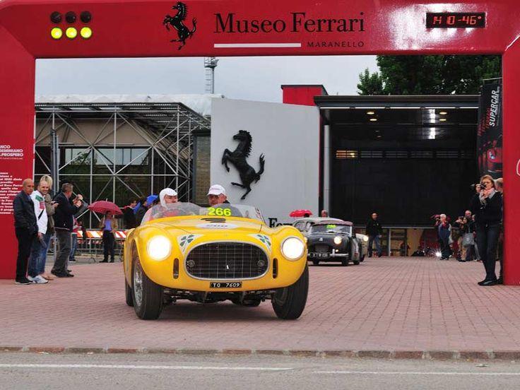 #Ferrarimuseum #Maranello #millemiglia