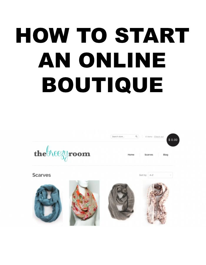 Starting your own online clothing store
