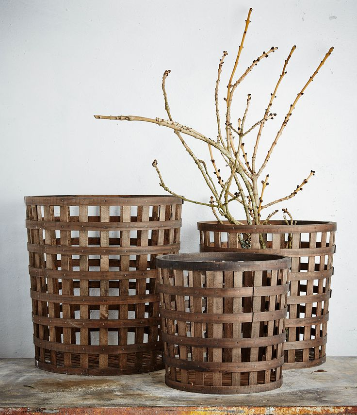 Robert Gordon Australia SS15. Orchard Baskets - Lattice Style. Styling by Hannah and Kate Gordon. Photography by Jarrod Barnes.