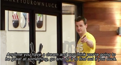Rob Dyrdek- I am OBSESSED with Fantasy Factory and I'm so upset that the Final FINAL season is about to start :/