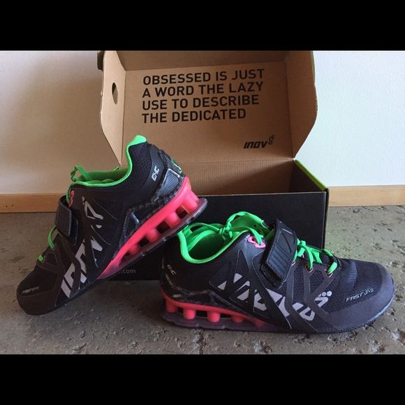 Inov8 Lifters - Olympic, Power, & Crossfit shoes Innov8 Shoes - Worn only 1 time Inov8 Shoes Athletic Shoes