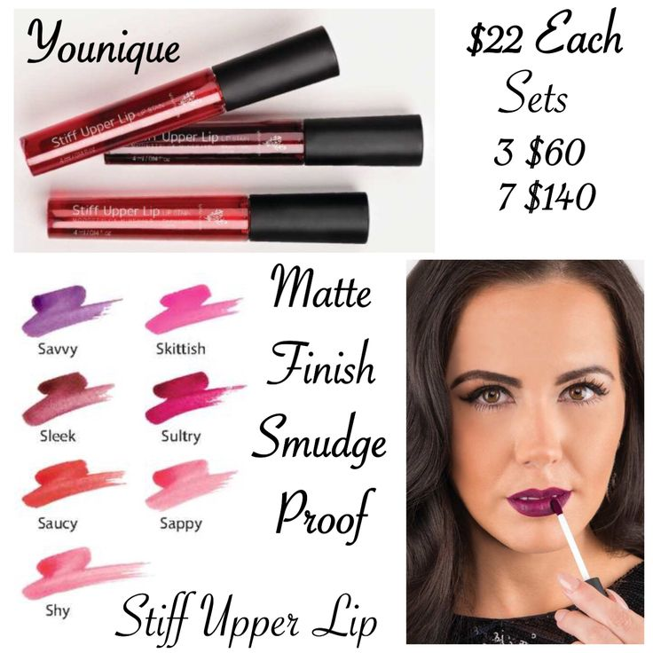 26 Best Images About Younique Stiff Upper Lip Lip Stain On