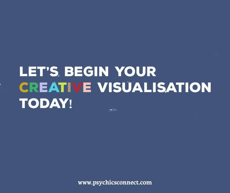 Let's begin your creative visualisation today! Decide what you goal is and be realistic and specific. From a picture in your mind of what that goal will look like and feel like. Focus positive energy on your goal. Believe in yourself and trust your order will be fulfilled. Always give thanks for what you receive.