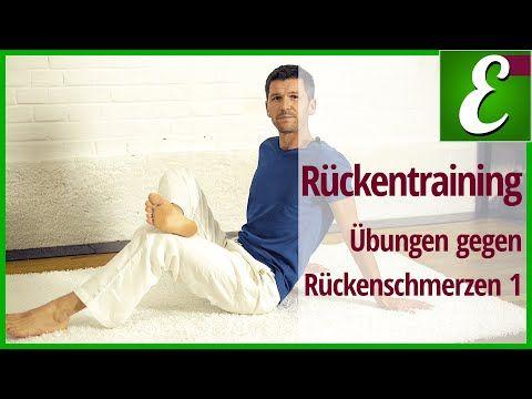 Professionelle Rückentraining - Gymnastik (Empfohlen von Ärzten und Therapeuten) - YouTube