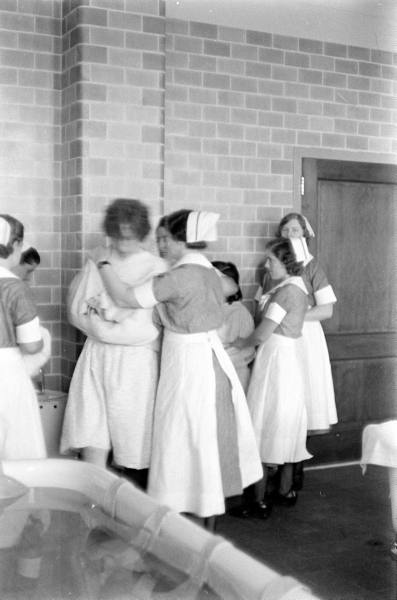 Pilgrim State Hospital. Photo by Alfred Eisenstaedt