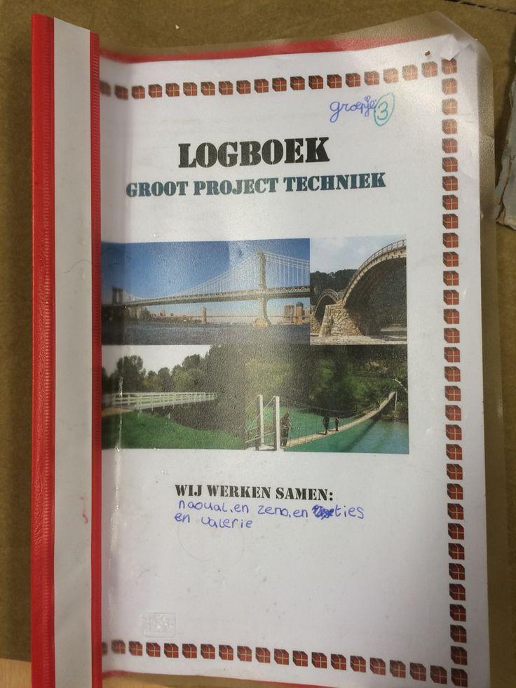 Logboek van de kinderen in MBT om het proces van bruggen bouwen bij te houden.