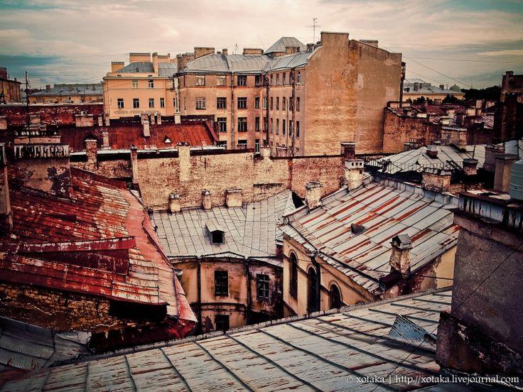 xotaka - Крыши Питера: набережная Кутузова