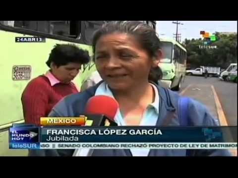 Transporte público subió en México pese a subvención
