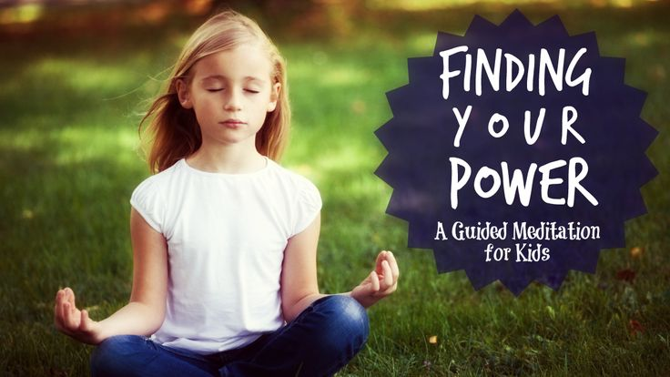 A simple guided meditation for kids that helps them regain their focus, find their calm and ignite their self-confidence: