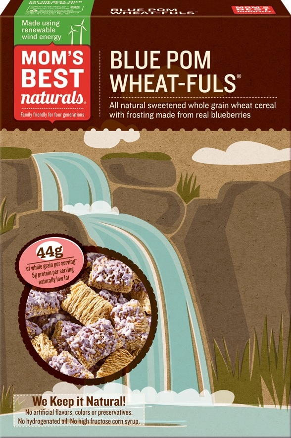 Mom's Best Blue Pom Wheat-fuls® -