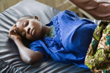 Children in Africa and the diseases affecting them.