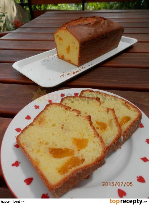 Mandarinkový chlebíček