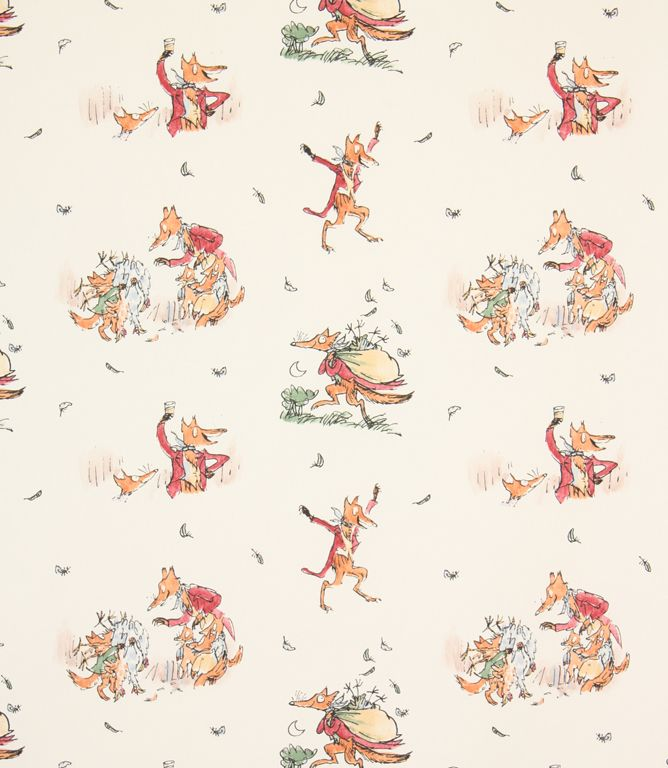 Fantastic Mr Fox Fabric / Multi | Just Fabrics