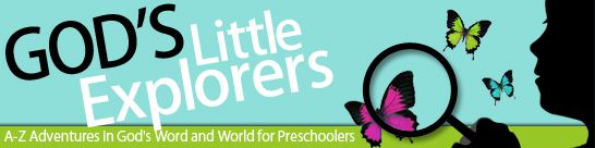 Free Preschool Curriculum: God's Little Explorers #homeschool