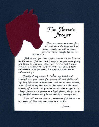 Prayer Decor And Horses On Pinterest
