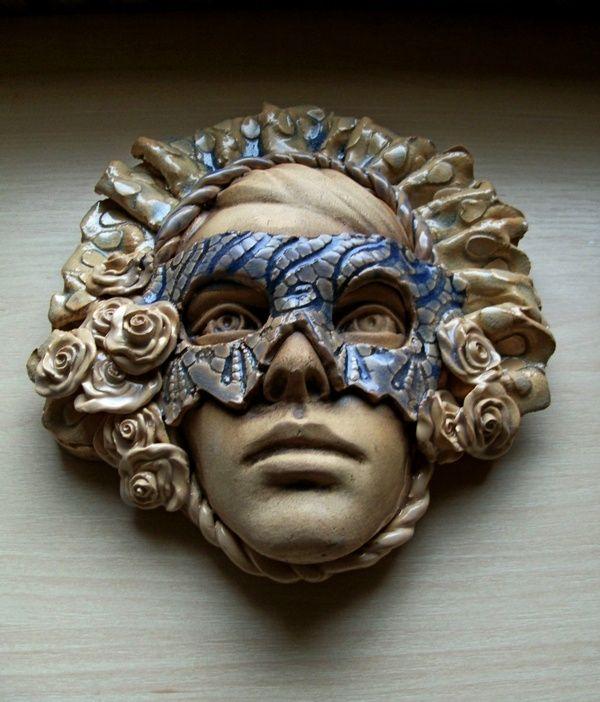 Ceramiczna maska wenecka/ Ceramic venice mask