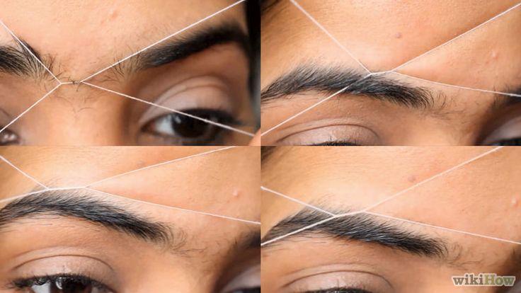 Comment s'épiler les sourcils au fil: 9 étapes