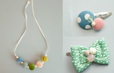 Accessories for little girls - the necklace is darling