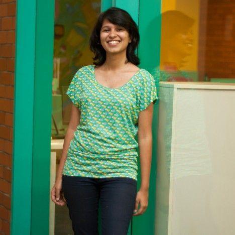 Buy KABUTAR WOMEN EMRALD TOP from Chumbak. To buy this visit http://www.chumbak.com/apparel/tshirts-tops.html