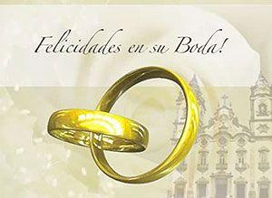 Felicitaciones por su Boda - Tarjetas gratis de felicitaciones, bodas, casamientos - Correomagico | Mágicas postales animadas gratis