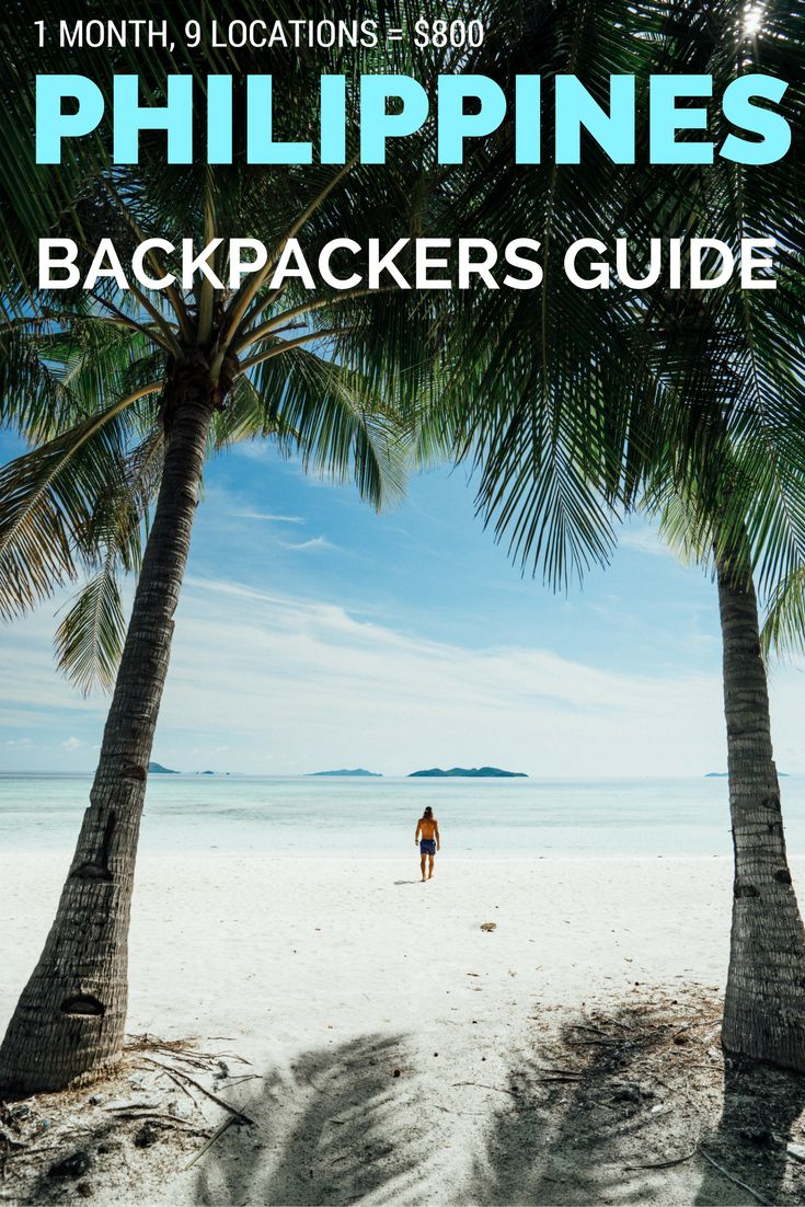 The Ultimate Backpacker's Guide to a month in the Philippines. 1 Month, 9 Locations for only $800