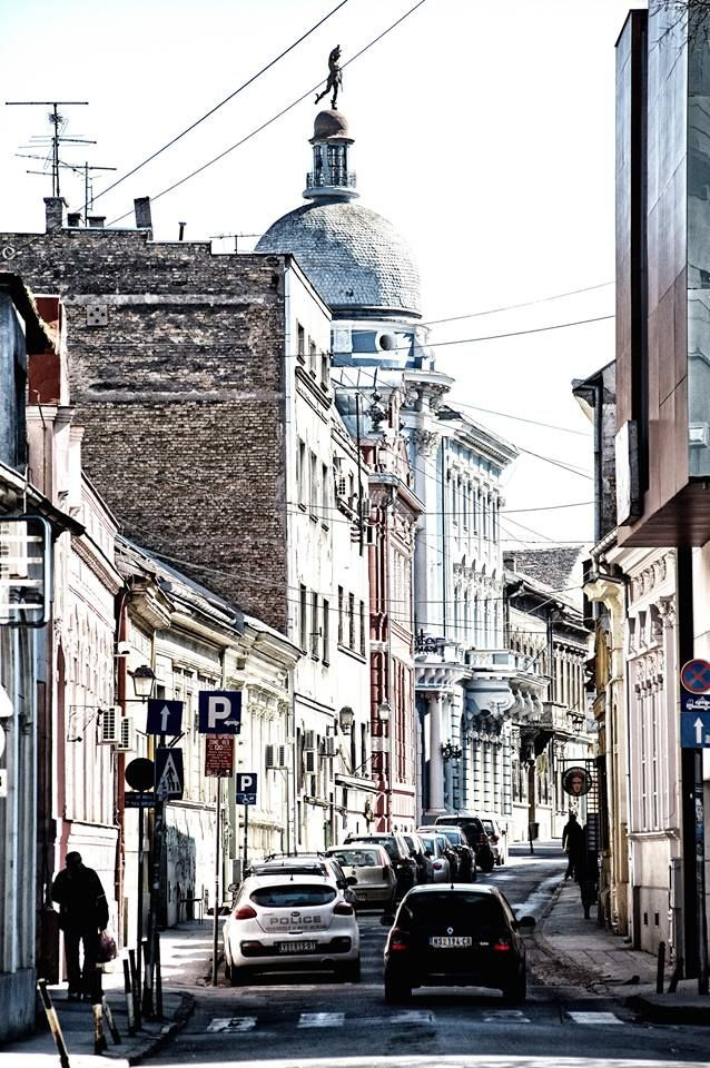 Svetozar Miletić Street, Downtown Novi Sad, Vojvodina