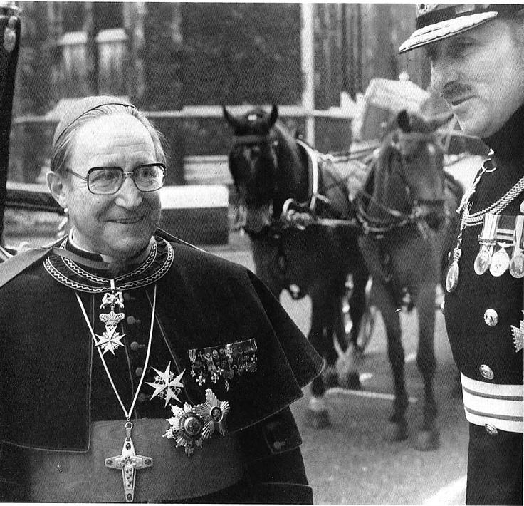 Archbishop Bruno Heim. Nuntiatursekretär von Angelo Roncalli (dem späteren Papst Johannes XXIII) in Paris (1947–1950).