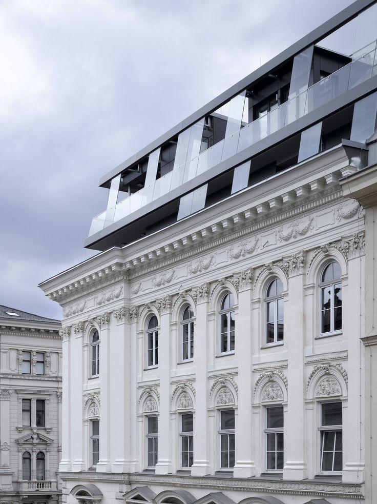 Schiener Architects   Dachausbau am Börseplatz