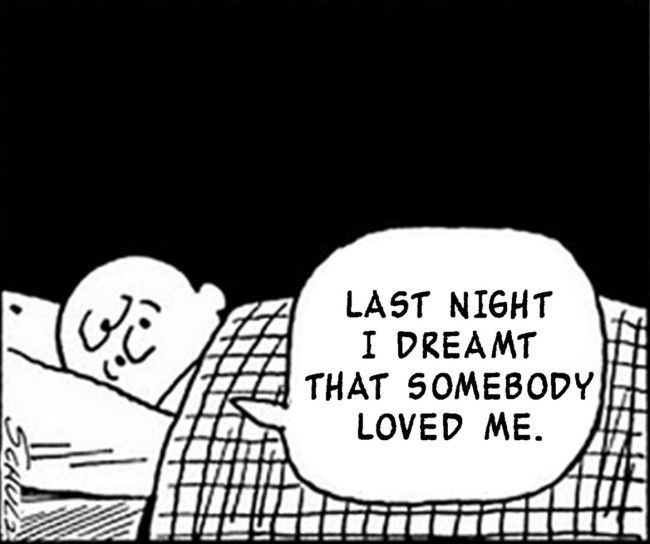 Morrissey lyrics meet Charlie Brown