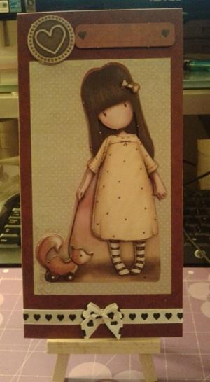 Gorjuss card
