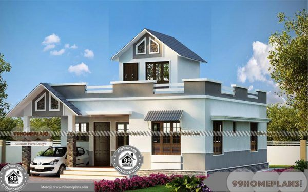 Single Level House Modern Indian Home Project Plans Amp Selected Ideas Kerala House Design 2bhk House Plan House Design