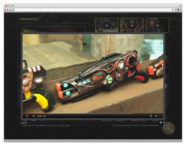 Wowwee Light Strike - Video by plankdesign, via Flickr