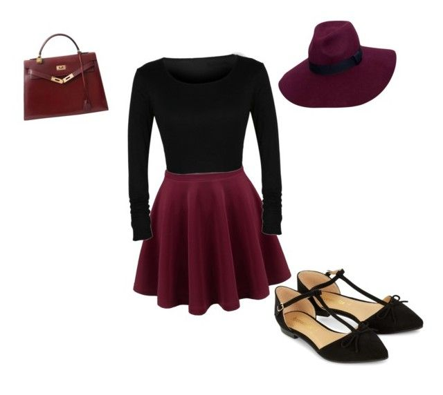 """""""Untitled #6"""" by karenangustia on Polyvore featuring Accessorize and Hermès"""