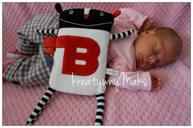 kreatywnyMaks: Nie tylko przytulanka dla maluszka