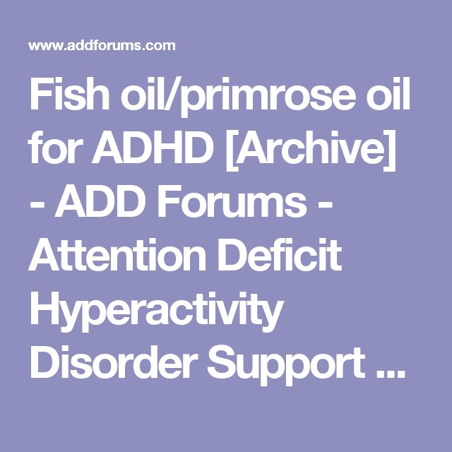 40 best boy stuff images on pinterest for girls parents for Fish oil adhd