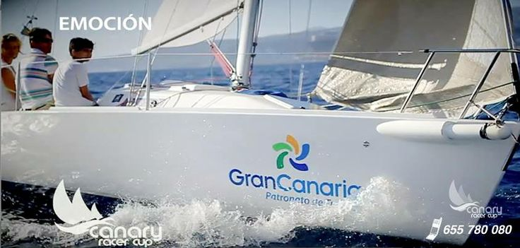 Boat trip Gran Canaria. Wind, ocean and sailing.