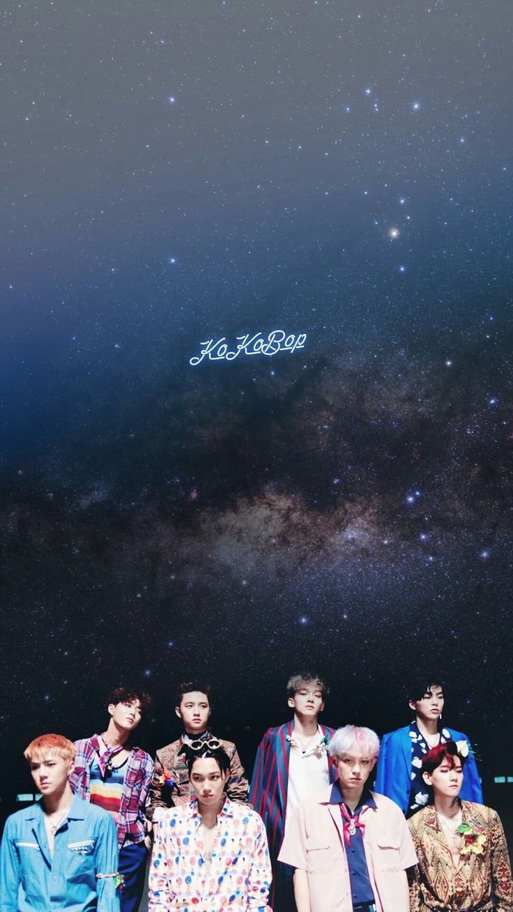 Resultado de imagem para exo kokobop wallpaper