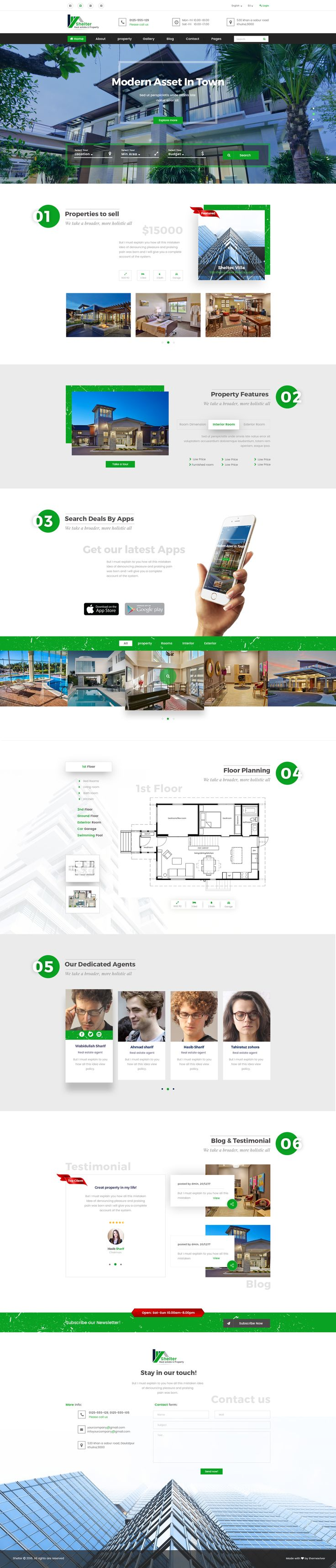 best images about web design real estate real real estate property psd template